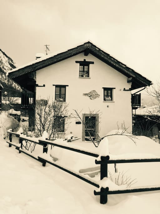 The Kleiner Hof in winter