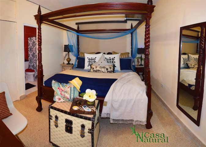 Archipelago en-suite Master Room at Casa Natural - Carolina - Rumah
