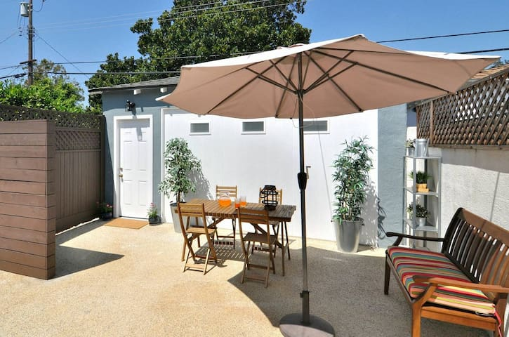 Charming guest house with large private patio