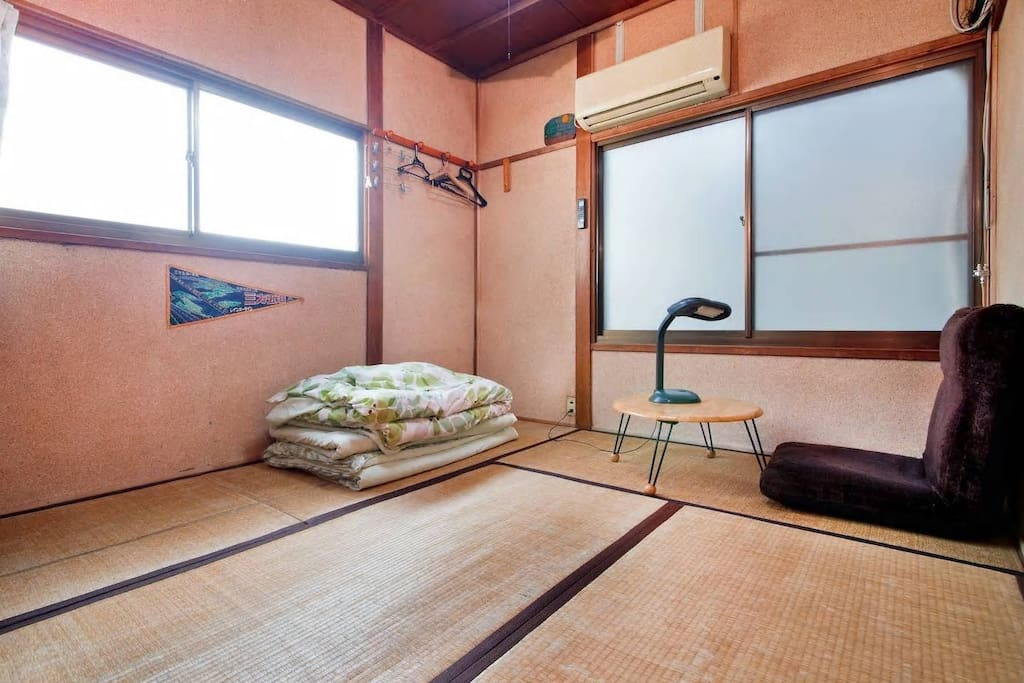 Your Bed room There are 3 layers futon sets with mattress.