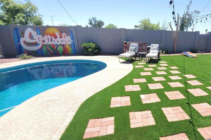 🌟BRAND NEW*OLD TOWN SCOTTSDALE🍾* POOL⛱*GAMES