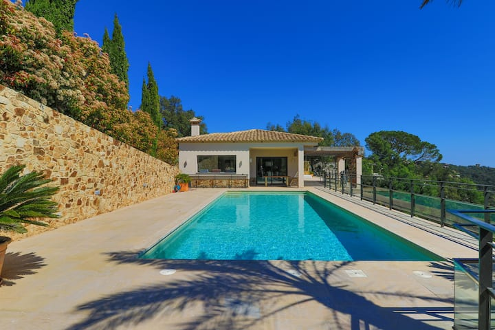 Magnificent villa with swimming pool
