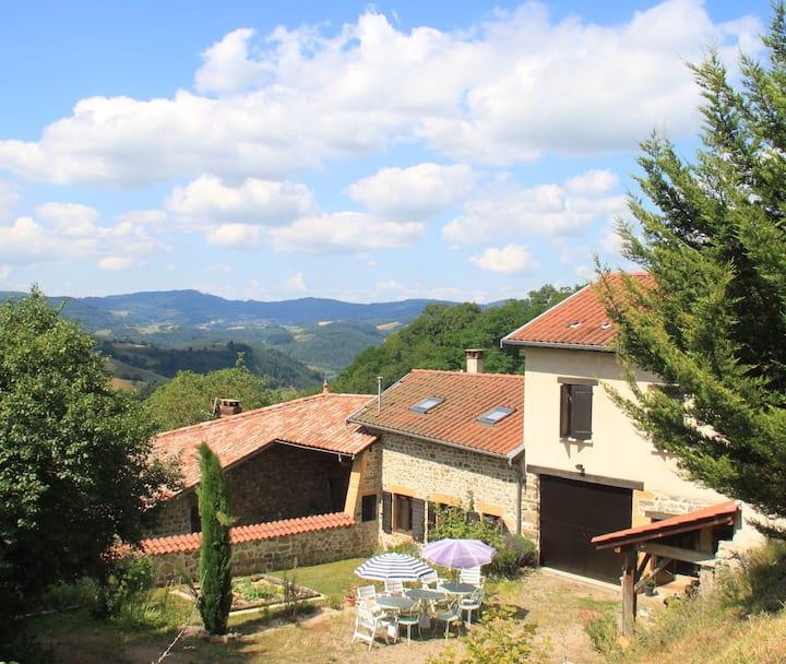 4. Quiet Retreat in the Beaujolais Hills. Room 4