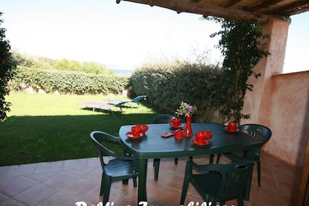AL/15 Elegant villa with a garden and sea view - Palau