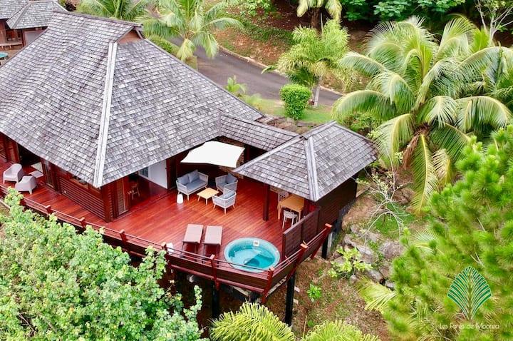 Villa Anuhe - Villa & Jardin luxuriant à Moorea