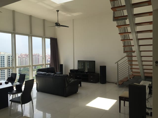 Penthouse Condo Common Room at Jurong Point - Singapur - Wohnung