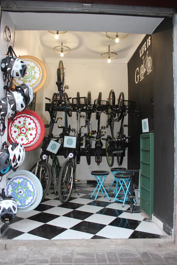 Welcome to our bike shop :)