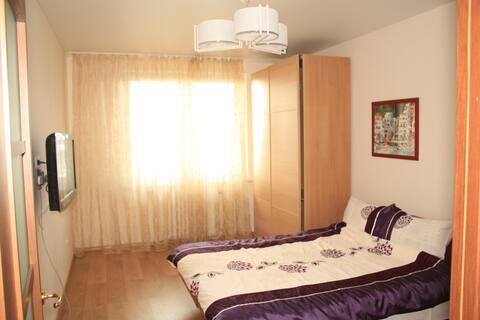 Уютная, солнечная однокомнатная квартира