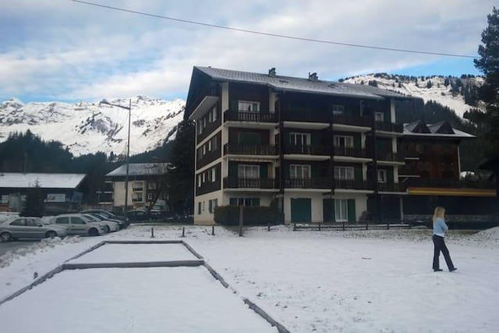 Cosy, modern room for ski or summer in Morgins - Morgins - Leilighet