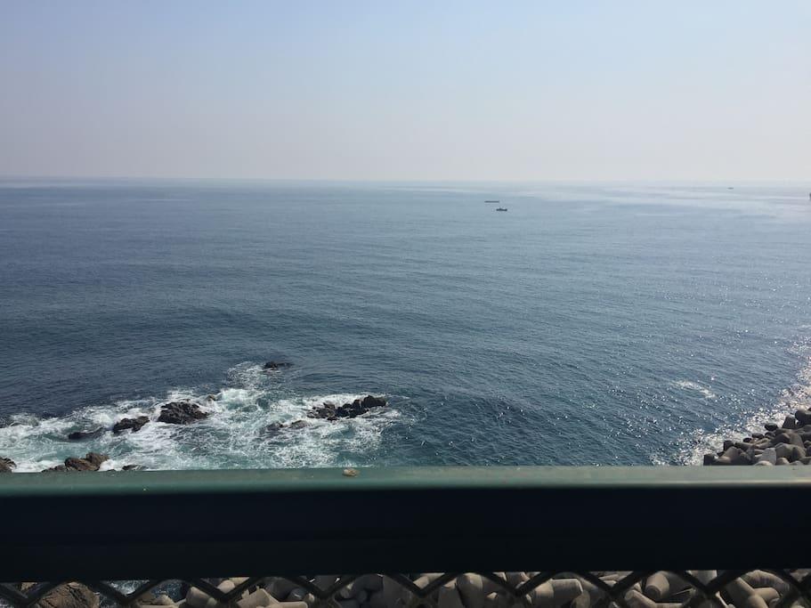 Ocean View On Balcony