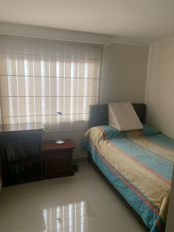 Acogedora habitación para una persona o una pareja