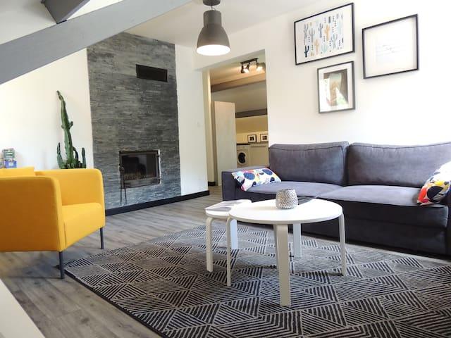 appartement calme/parking 4/6 pers Sainte-Enimie