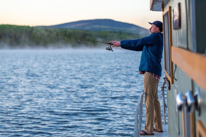 Fishing from your doorstep!