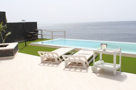 Best Sunset in Praia-Modern house - Praia - Dom