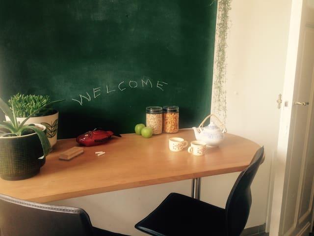 Charming room 2 persons - Brussels Hoofdstedelijk Gewest - Wohnung