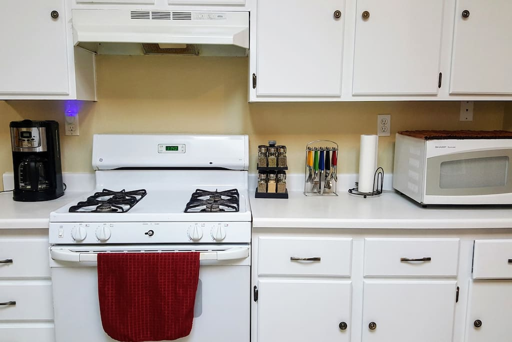Portable stove top will be available for light cooking (oven / stove not included)