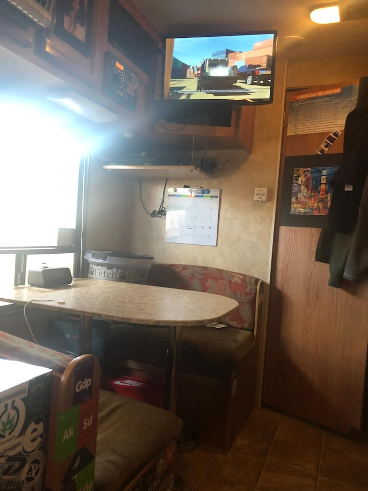 Nice and Cozy Travel Trailer