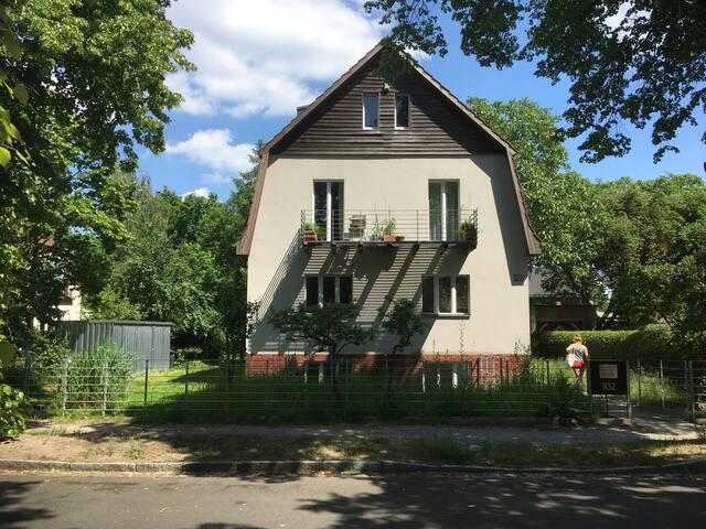Haus von der Karl-Marx-Straße