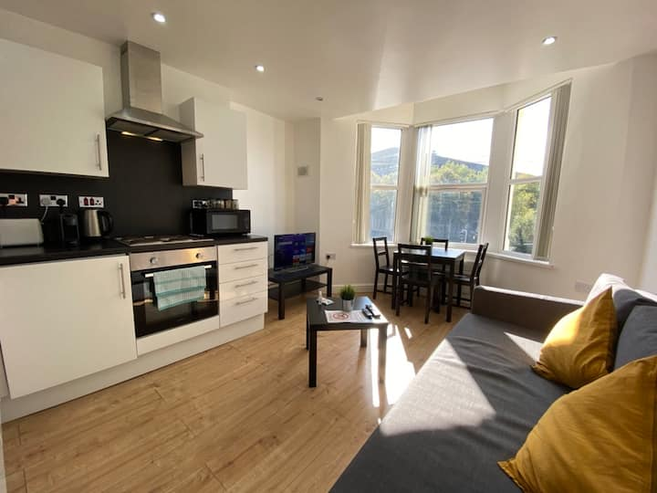 4 Person Cardiff Apartment Next to ButePark/Centre