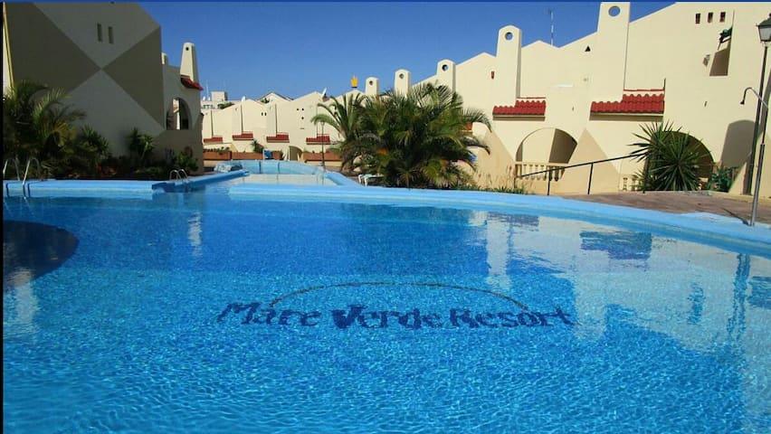 Estudio,Mareverde,Costa Adeje, pool view,WIFI free