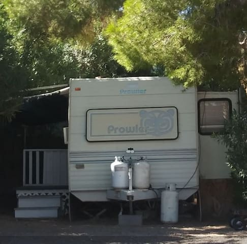 Nice RV at the River and by the Laughlin Casinos