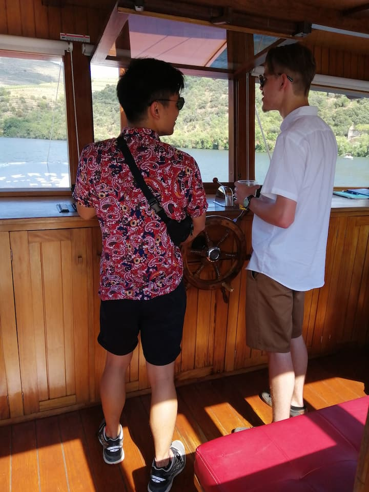 Being captain in Douro Valley