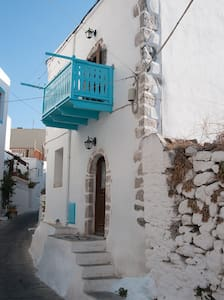 Mandraki, Nisyros, Dodecanese, Aegean Sea, Greece - Mandraki