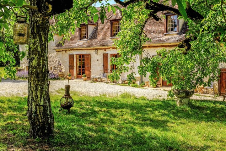 Beautiful gite set amongst wildlife and woods