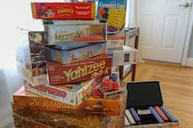Board games for little and big kids.