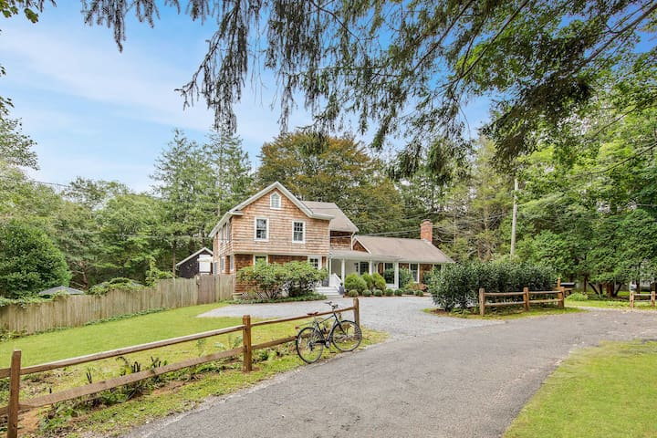 Newly Restored Farmhouse 15min walk 2village/beach