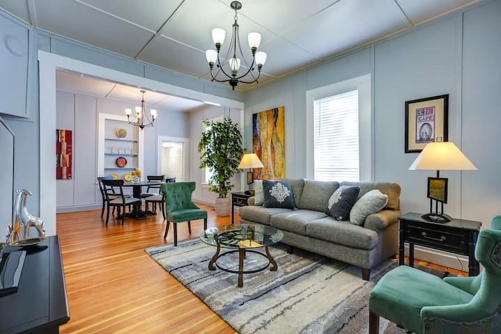 Historic Downtown Charm with Modern Comfort