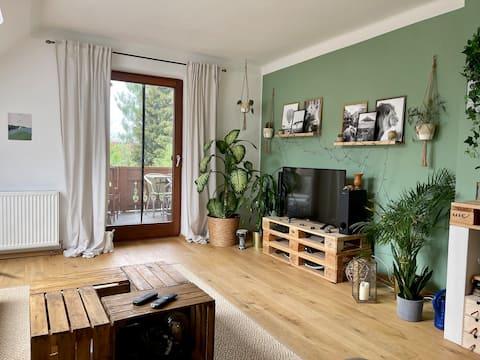 Gemütliche Dachgeschosswohnung Nähe Klagenfurt