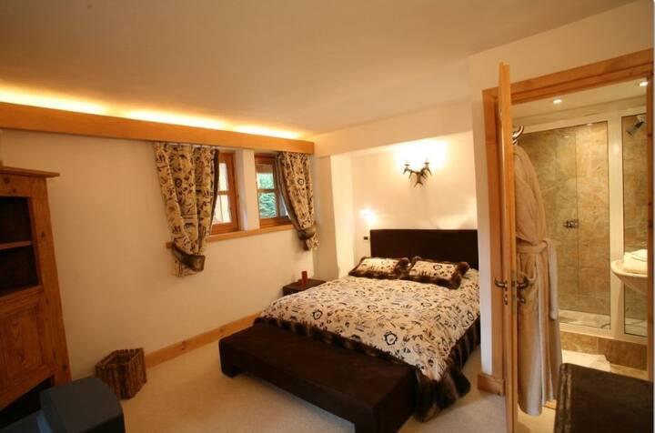 Chambre ZERMAT : luxe et calme au pays du MT BLANC