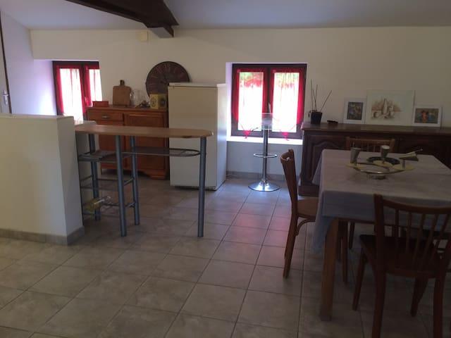 Appartement avec 1 chambre, en campagne pour rando
