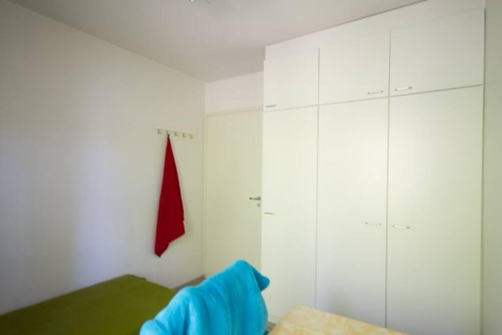The rooms door