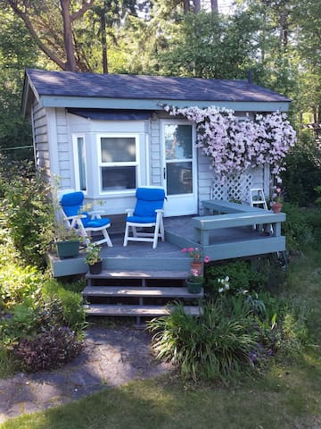 Tiny cozy cottage by the Salish Sea