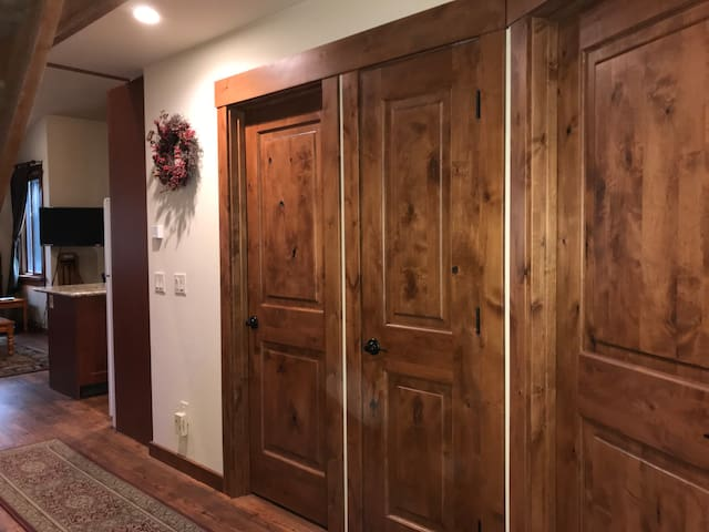 All solid alder interior doors