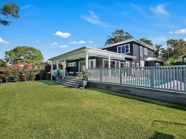Dream family holiday home near Sydney Nth beaches