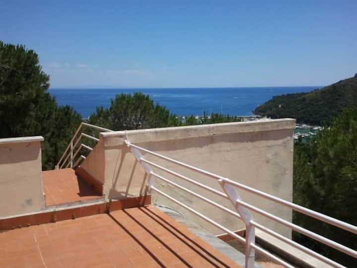 Tuscany, Argentario, villa with view