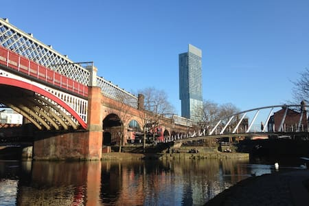 Private Bedroom next to City Centre & Old Trafford - Manchester - Huoneisto