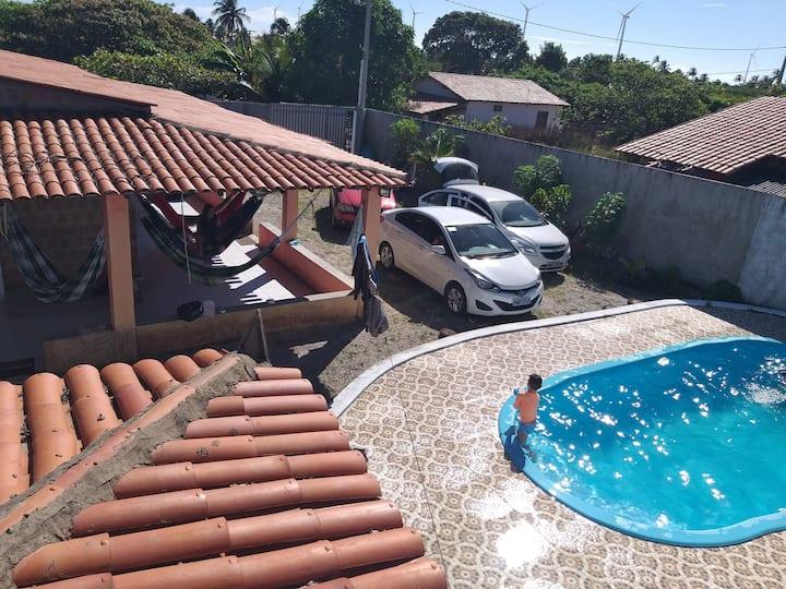 Casa de praia na Taiba.(uchoa)
