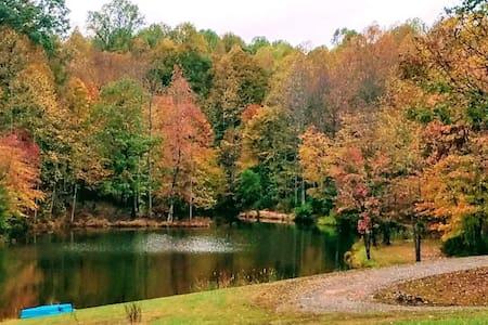 Oakridge Farms-Private Lake 30 Min to VIR