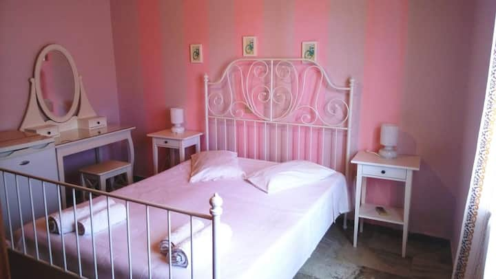 Double room valley view in lefkada