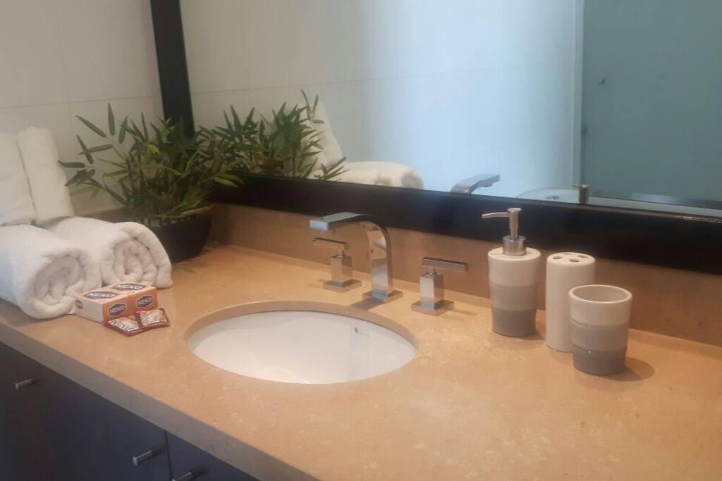 Baño Habitación Principal, con tina.