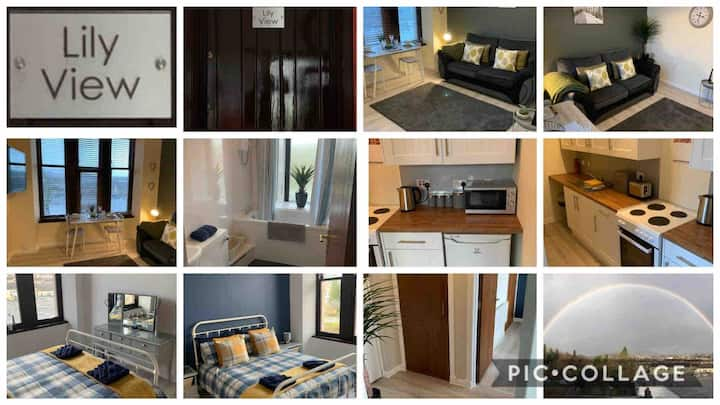 Lily View - Modern Dunoon town centre apartment