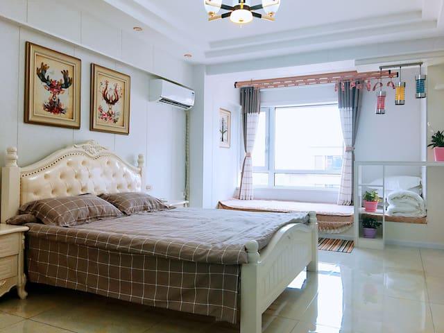 蓬莱海上仙街 悠然居 公寓民宿 蓬莱阁景区 临海 可做饭 有电梯