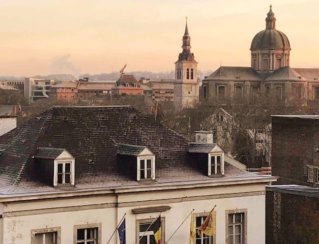Appart 8 personnes 10' à pied du centre de Namur