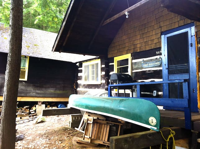 Bill's Rustic Cabin - water access by boat
