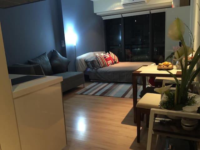 30.9sq m STUDIO @ Knightsbridge Residences - Makati - Appartement en résidence