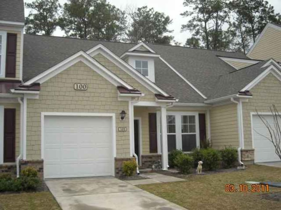 Experience life as a South Carolina resident in the beautiful community of Coldstream Cove in the Prince Creek area, directly across the street from TPC Golf Course; only a 5-15 minute car ride to the many beaches. This IS the home away from home vacation destination spot you've been searching for!